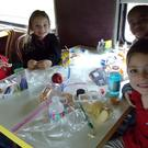 Lunch in dining car